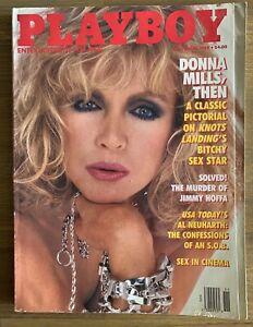 PLAYBOY NOVEMBER 1989 Renee Tenison, Donna Mills Nude