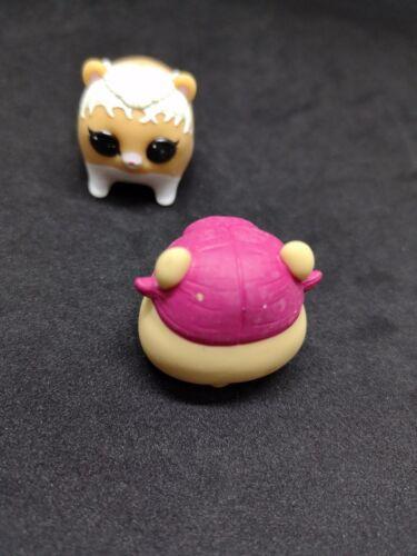 LOT 2 BARE PETS  Rare LOL Surprise Doll Pets MC HAMMY /& CHERRY
