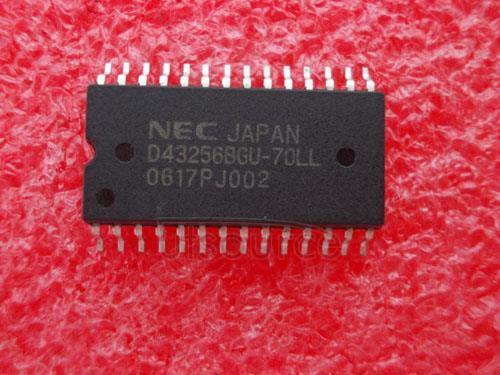 5PCS D43256BGU-70LL  Encapsulation:SOP,256K-BIT CMOS STATIC RAM 32K-WORD BY