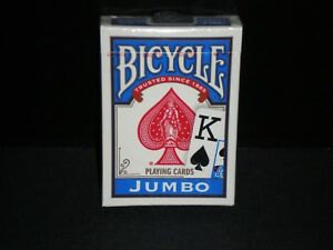 Bicycle-Standard-Size-Jumbo-Face-Index-Blue-Deck-Rider-Back-Playing-Cards-Games