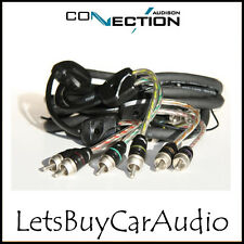 CONNECTION AUDISON BT6-550 - 5.5m RCA CAR AMPLIFIER 6 CHANNEL PHONO LEADS