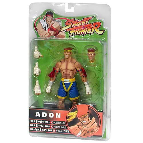Streetfighter 15th Anniversary Series 3 Adon 16cm PVC Action-Figure Sota
