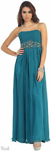 SIMPLE-BRIDESMAID-LONG-GOWNS-EVENING-FORMAL-GOWN-PROM-SWEET-16-PARTY-amp-PLUS-SIZE