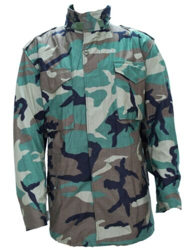 GI M65 Field Jacket Woodland Camo Field Jacket Alm