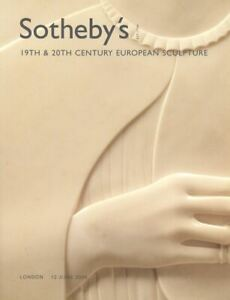 Sotheby-039-s-Catalogue-19th-amp-20th-Century-European-Sculpture-2006-HB