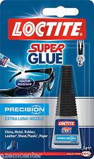NEW  Super Glue LOCTITE Precision Extra Long Nozzle 5g Bottle