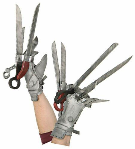 Edward mit den Scherenhänden Deluxe Erwachsene Handschuhe Hände Rubies Halloween
