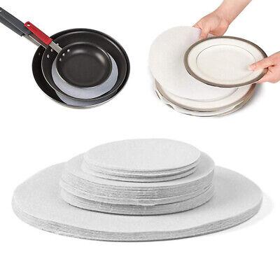 Soft Felt Plate Dividers Storage Boar Separator Dish Pad Protectors 24pcs lot