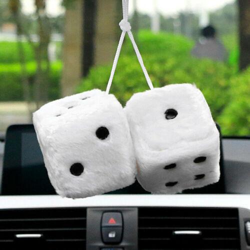 Mignon Hanging Accessoires peluche Dés Rétroviseurs voiture Pendentif Parure Craps