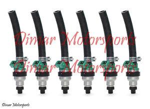*Lifetime Warranty* 2.5L 3.0L M3 BOSCH UPGRADE 30LB 30# Fuel Injector Set