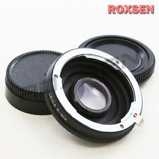 Leica R L/R Lens to Nikon F mount Adapter Infinity optical D600 D800 D7100 D5200