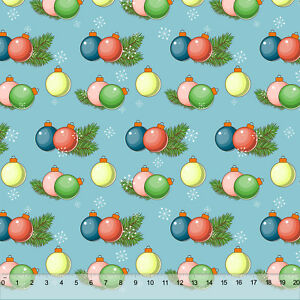 Christmas Bubble Ornaments - Home Decor Fabric Polyester ...
