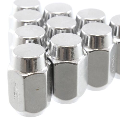 "Chrome Acorn Lug Nuts1//2/"" x 20 Thread PitchClosed End ONE PIECE 20"