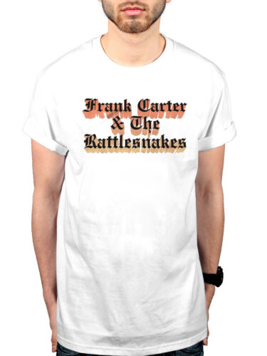 Official Frank Carter And The Rattlesnakes Gradient T-Shirt Modern Ruin Blossom