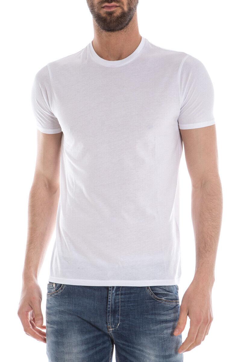 T shirt Maglietta Armani Jeans Sweatshirt Cotone Uomo Bianco C6H16FF 10