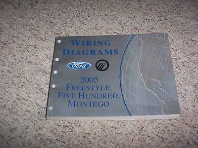 2005 Ford Five Hundred Electrical Wiring Diagram Manual SE ...