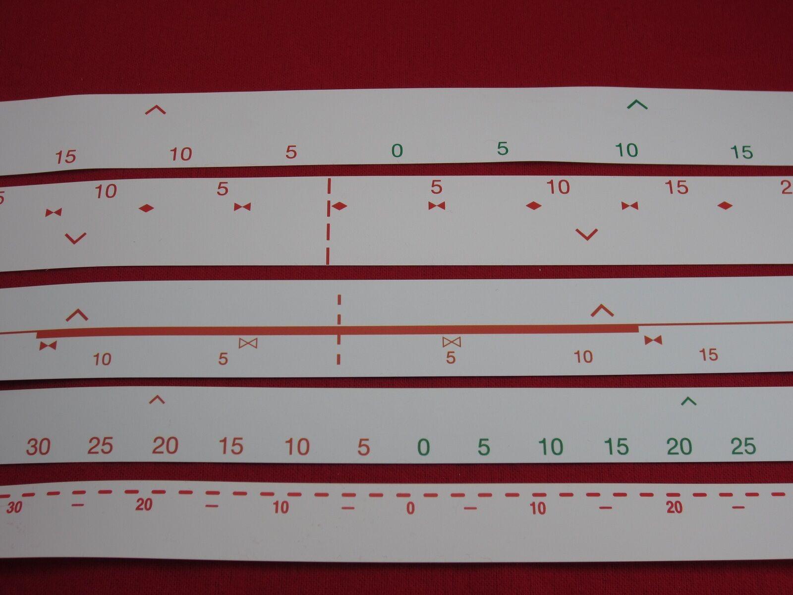 Needle Bed Strip for Knitmaster Knitting Machine Ribber SR155 Ribber