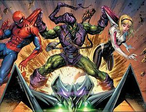 AMAZING SPIDER-MAN #47 Exclusive Tyler Kirkham Connecting Virgin Variant Set