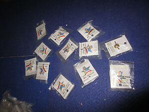 1990 Seattle Goodwill Games Basketball Pin Lot 12 Mint In Packages