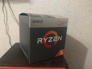 Used Amd Ryzen 5 2400g Processor With Radeon Rx Vega 11 Graphics Ebay