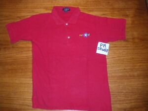 Toys-R-Us-Employee-Polo-shirt-From-the-early-2000-s-Red-Small