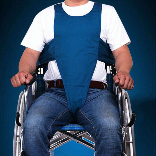 Safety Wheelchair Seat Belt Protable Anti-slip Restraint Belt For Elder Home