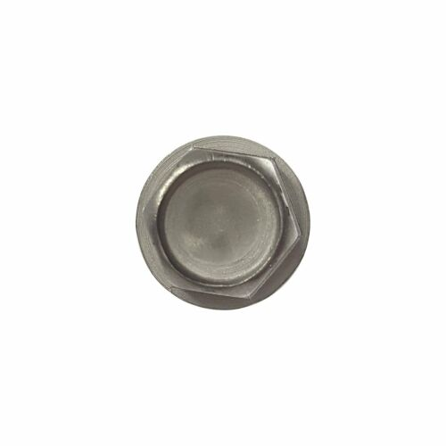 "#8 x 1-3//4/"" Hex Washer Head Self Drilling Tek Screws Stainless Steel 410 Qty 100"