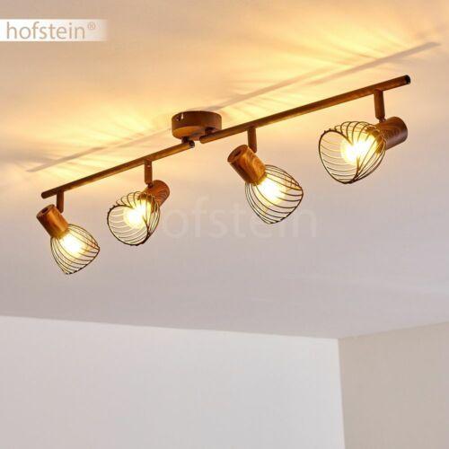 4-flammige Flur Strahler Rost Wohn Schlaf Zimmer Beleuchtung Retro Decken Lampen