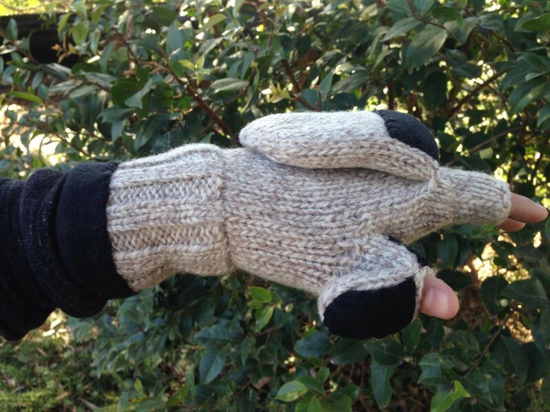 Heat Factory Heated Ragg Wool Glove With Mitten With Free Hand Warmer 100% High Quality Materials