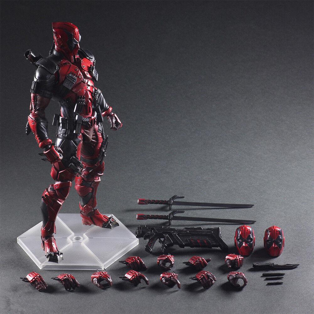 Play Arts Kai Marvel Universe Variant Deadpool PVC Action Figure New In Box
