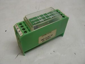 Image Is Loading PHOENIX CONTACT EMG22 DIO7M DIODE MODULE W 7