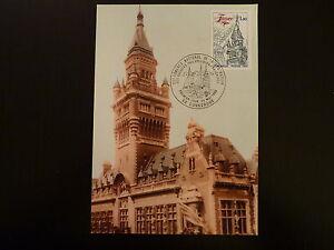 France Premier Jour Fdc Yvert 2088 Hotel De Ville 1,30f Dunkerque 1980