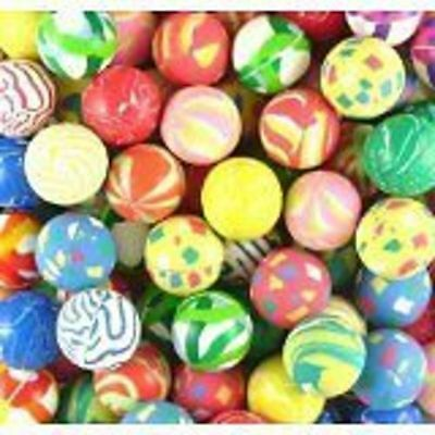 150 BOUNCY JET BALLS BIRTHDAY PARTY LOOT BAG  FILLERS- FREE SAME DAY POSTAGE