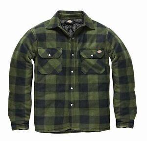 Dickies-Hombre-Portland-workwear-Trabajo-Camisa-Informal-sh5000-Verde
