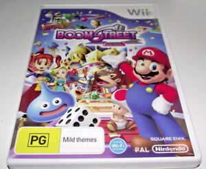 Details about Boom Street Nintendo Wii PAL *Complete* Wii U Compatible Mario