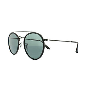 9ac79911a60 Sunglasses Ray-Ban Rb3647n Round Double Bridge 002 r5 51 Black Grey ...