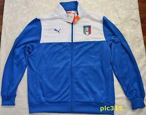 Italia Heren Figc trainingsjack Nieuw label met Puma 1S7Tx7