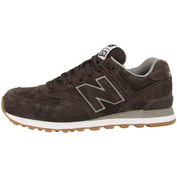 Zapatos promocionales para hombres y mujeres New Balance ML 574 FSB Schuhe braun ML574FSB Sneaker brown M574 410 420 373 576