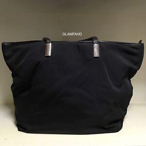 Pre-Owned-Vintage-Authentic-Gucci-Nylon-Large-Shoulder-Bag