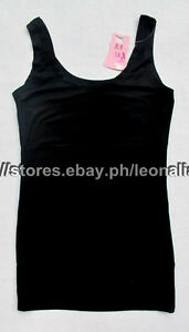 MUST-BUY-SO-CHEAP-AUTH-GIANG-WEI-SOLID-BLACK-TANK-TOP-MEDIUM-165-100-BNWT