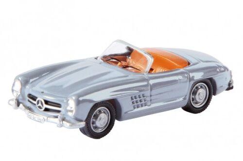 Schuco 26053-1//87 Mercedes-Benz//mb 300 SL Roadster-plata-nuevo