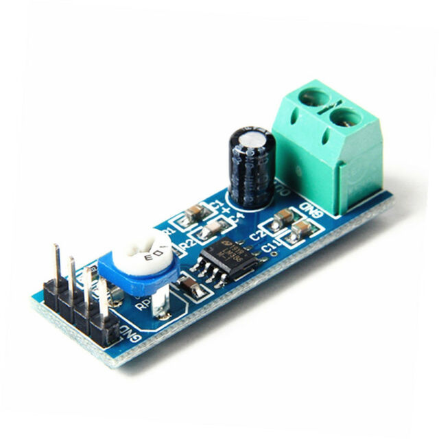 1PCS LM386 Audio Amplifier Module 200 Times 10K Adjustable Resistance 5-12V
