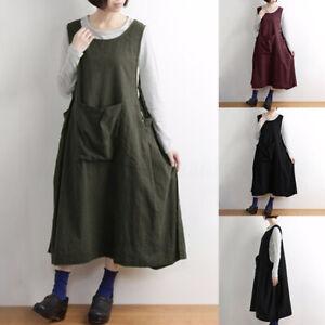 Women-Sleeveless-Summer-Tank-Dress-Oversize-Tank-Dress-Midi-Dress-Sundress-Plus