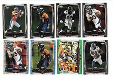 NFL FOOTBALL DENVER BRONCOS CHROME TEAM LOT (54) NO DOUBLES,MANNING,PLUMMER,BELL