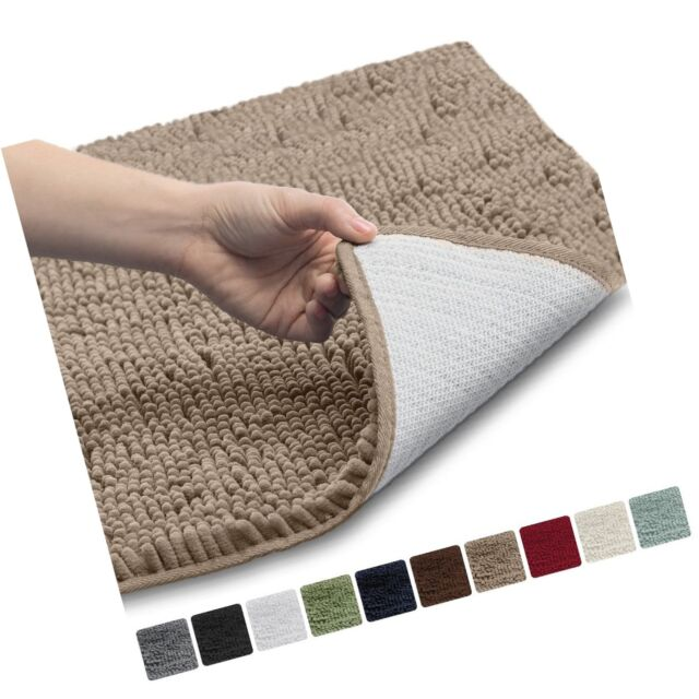 Gorilla Grip The Original Shaggy Chenille Bathroom Rug Mat 3 Sizes And 10 Co