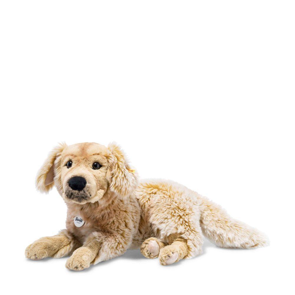 STEIFF 076947 Andor Golden Retriever 45cm hellbraun liegend Hund