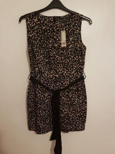 Dress Womens Black 16 New Taglia Ref 55 Girls Rrp Warehouse Brown Ladies 200 £ fpqgpPw