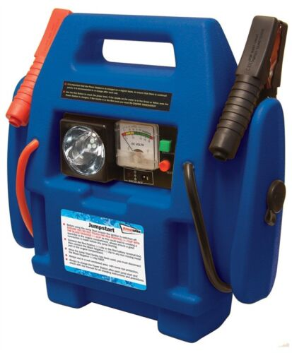 Emergency Jump Start Power Station 260psi Air Compressor for Petrol & Diesel Car