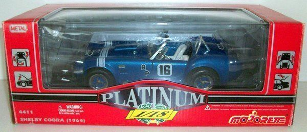 MAJORETTE Approx 1 18 (1 21 Scale) - 4411 SHELBY COBRA (1964) RACING