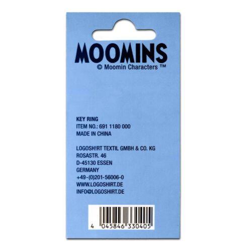 Keyring Mumins LOGOSHIRT Stinky Schlüsselanhänger Metall Moomins